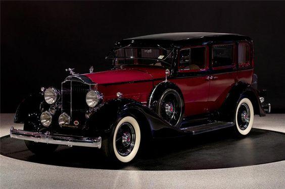 Belos Automóveis Antigos by Daniel Alho / 1934 PACKARD EIGHT