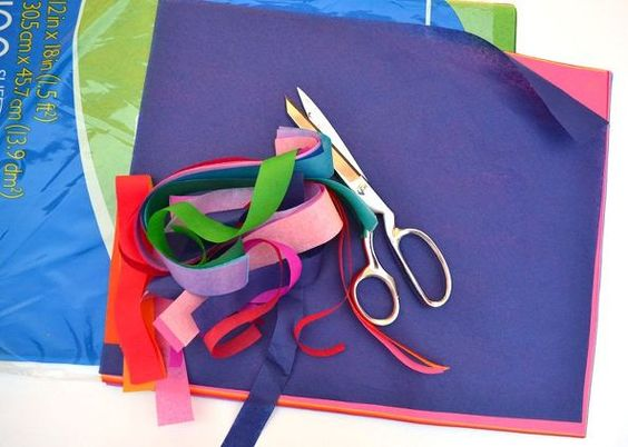 tissue paper art, crafts, home decor, how to