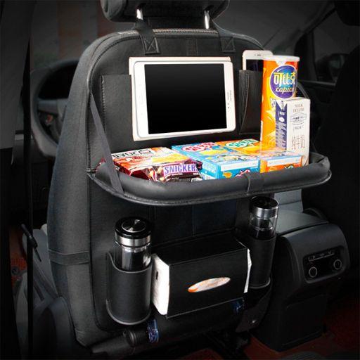 Car Seat Back Folding Portable Storage Bag Multi-Use
