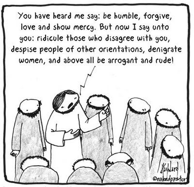 The Religious Right corrects your misunderstandings of Jesus' core messages