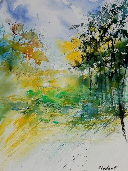 watercolor 908061 Pol Ledent - Artelista.com - en