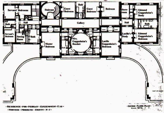 Carnegie Mansion, West Long Branch, NJ - 2nd floor