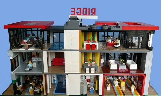 LEGO The Ridge Modern Townhouse | Flickr - Photo Sharing!