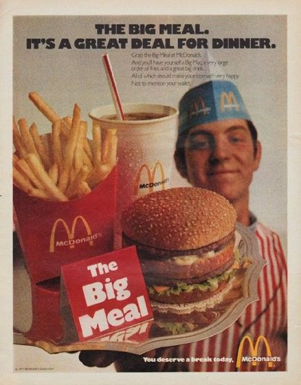 Image gallery mcdonald 39 s 1971 for Australian cuisine history