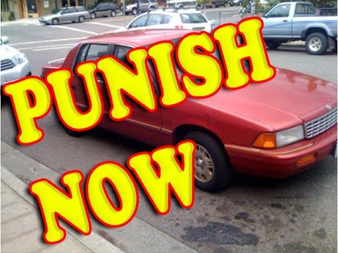 How to Punish a Double Parking Car Driver - Funny Car Prank - YouTube