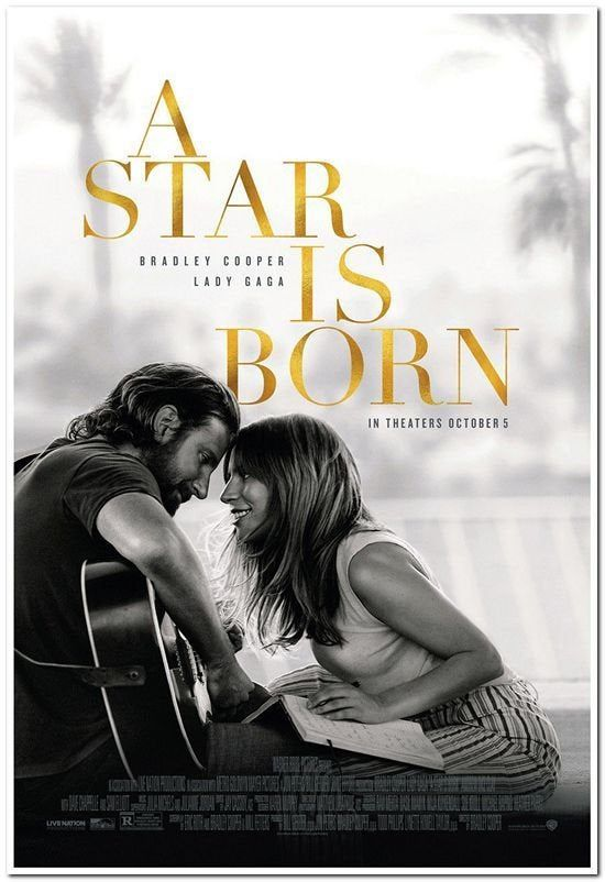 A Star Is Born 2018 Original 27x40 Regular Style Movie Poster