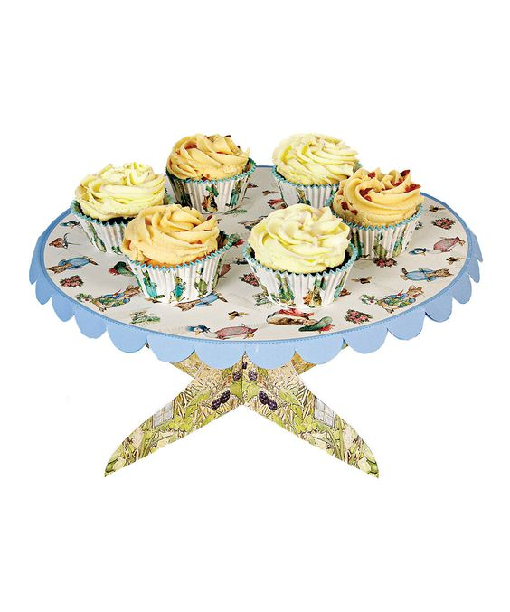 Take a look at this Peter Rabbit Paper Cake Stand on zulily today!