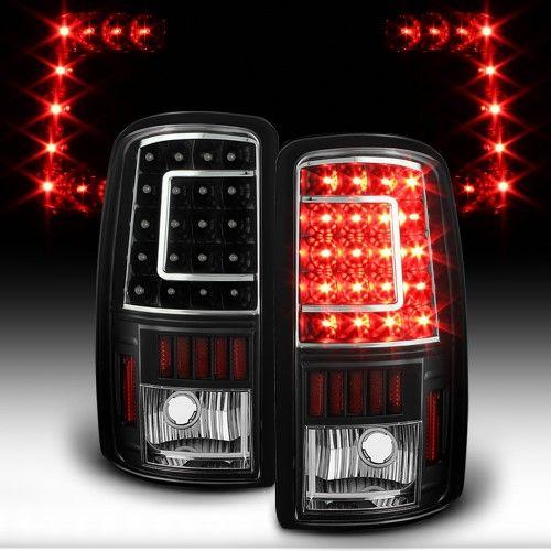 Black 2000 2001 2002 2003 2004 2005 2006 Chevy Suburban 1500 2500 Tahoe Gmc Yukon Xl C Strip Led Tail Lights Brake Lamps Left Right 2rd Gen 19168990 191689 Chevy Suburban Gmc Yukon Chevy