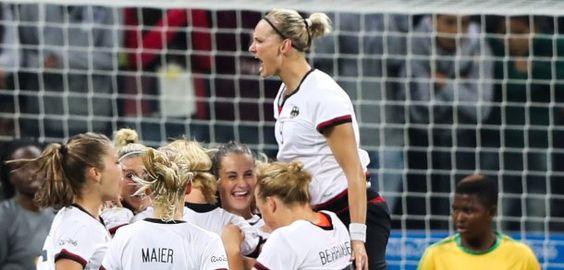 Olympia-Auftakt im Frauenfußball: Deutschland besiegt Simbabwe 6:1