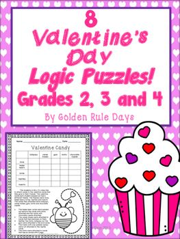 ... more logic puzzles puzzles critical thinking valentines day valentines