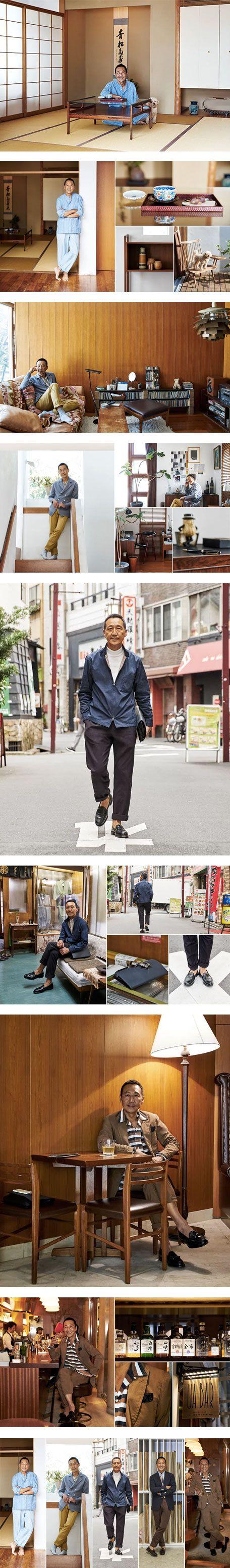 A conversation with Mr Yasuto Kamoshita featuring Shirts, Clothing and Sweaters on Nuji.com #menswear #style #yasutokamoshita