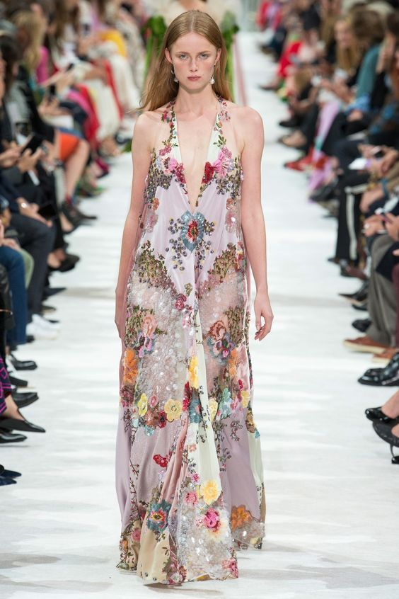 Women RUNWAY designer inspired SUMMER DRESS