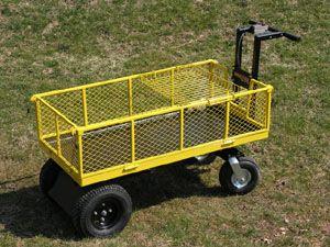 Powered Wheelbarrows Power Garden Carts Um 306m Motorized