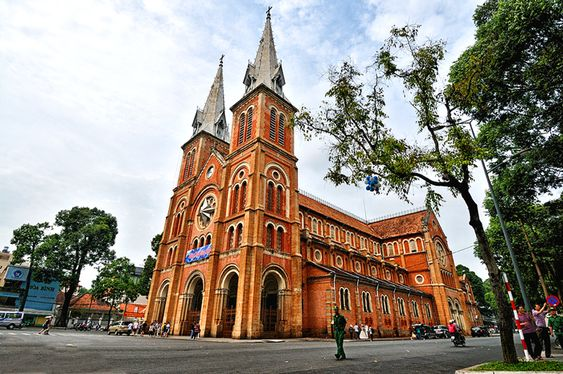 Notre Dame in Ho Chi Minh city