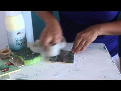 DIY: Fototransfermedium auf Glas, Metall, Porzellan, Holz, Stoff, Kerzen + FAQ - YouTube