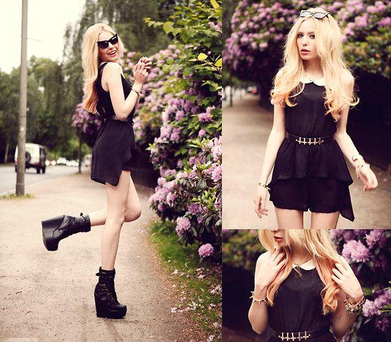 .: Nightout Outfits, Edgy Outfits, Dress Black, Collection Bracelets, Bracelet Tfnc, Black Dress, Jfr Bracelet