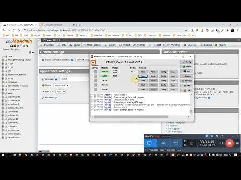 Import Export Database Mysql Di Localhost Xampp Phpmyadmin Panduan Belajar Pemrograman Belajar