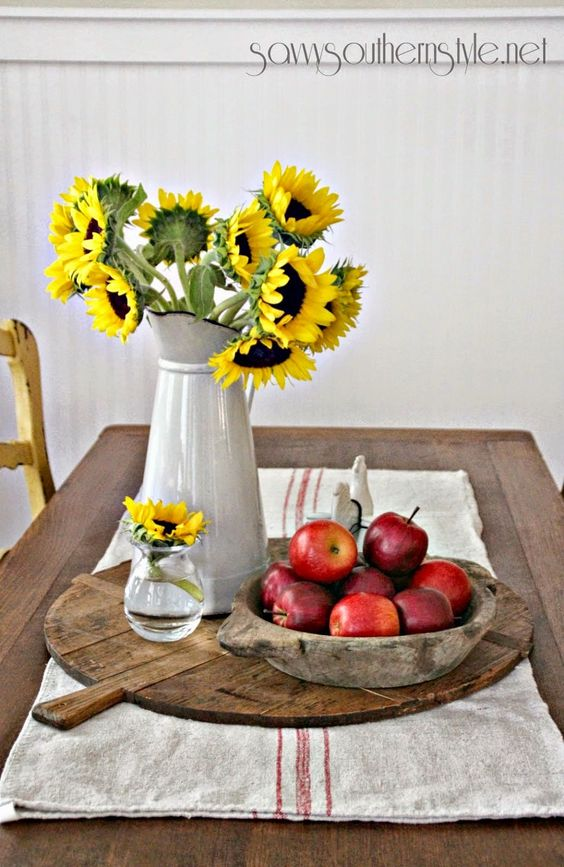 Savvy Southern Style: How To Use Vintage Breadboards in Your Decor