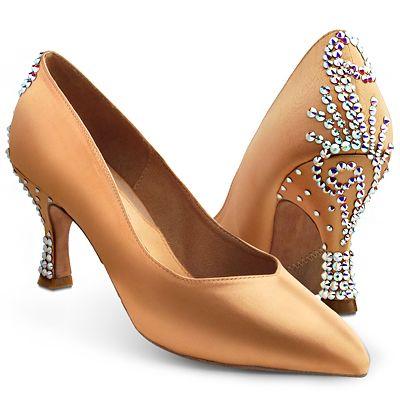 BeSparkle Crystallized Design SH554 | Dancesport Fashion @ DanceShopper.com