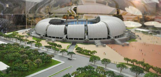 """""""Arena das Dunas"""". Natal, Rio Grande do Norte. Brasil."""