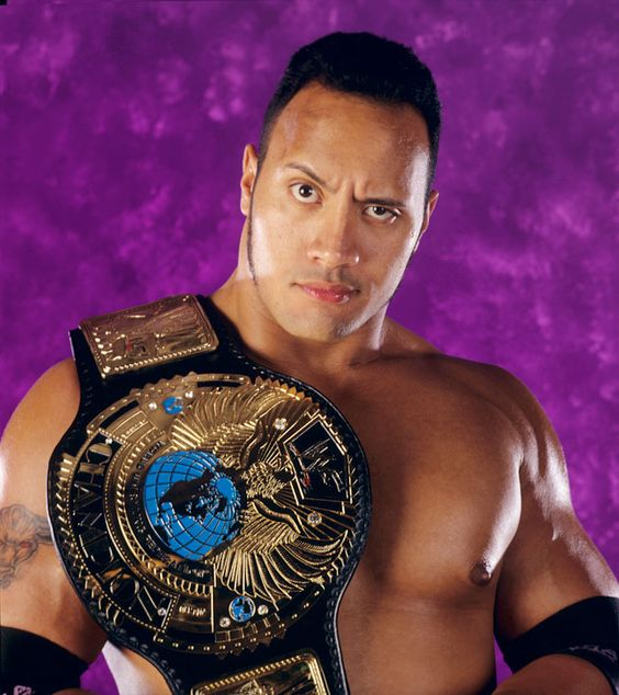 WWF World Heavyweight Champion The Rock | Wrestling ...