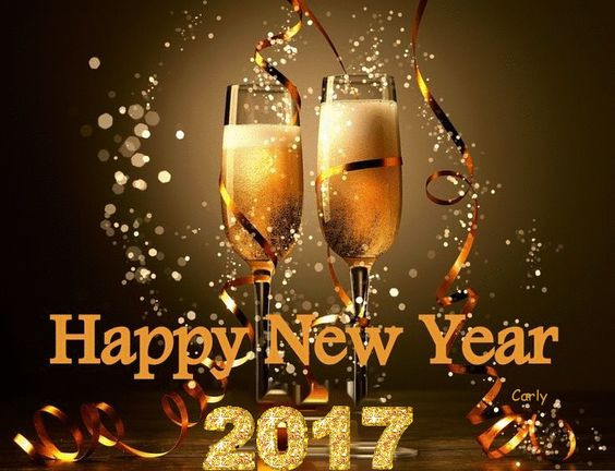 3D HAPPY NEW YEAR 2017: