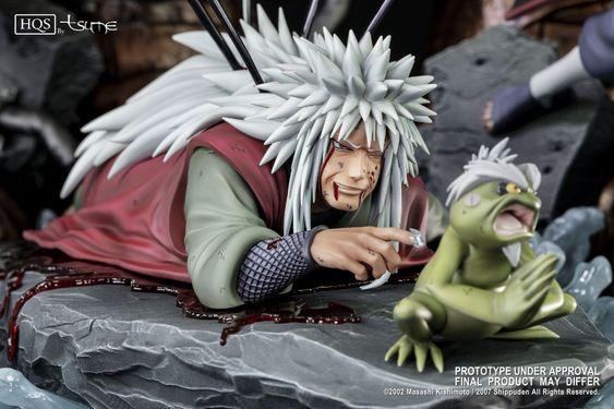 Jiraiya One Last Heartbeat Hqs Statue 1 8 By Tsume Art Naruto