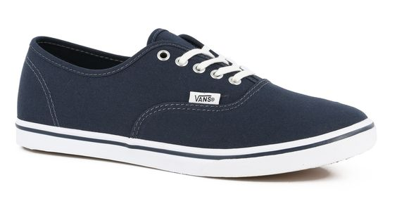 Vans Women's Authentic Lo Pro Shoes - Ombre Blue / True White