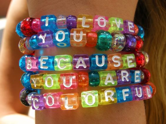 You're colorful :)