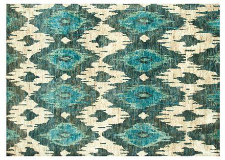 Hampstead Jute Rug, Blue/Ivory on shopstyle.com
