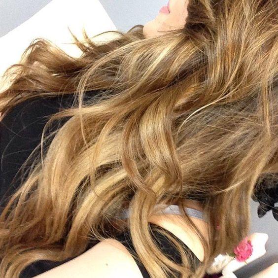 """J E S S I C A ⚡️ H A R L O W on Instagram: """"tempted...  #throwback #hair #balayage"""""""