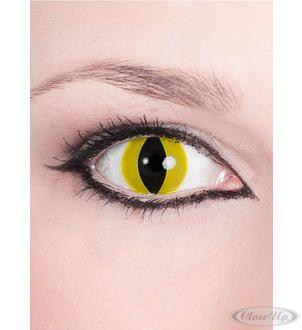 Motiv Kontaktlinsen Raubtier gelb  Erhältlich auf www.closeup.de