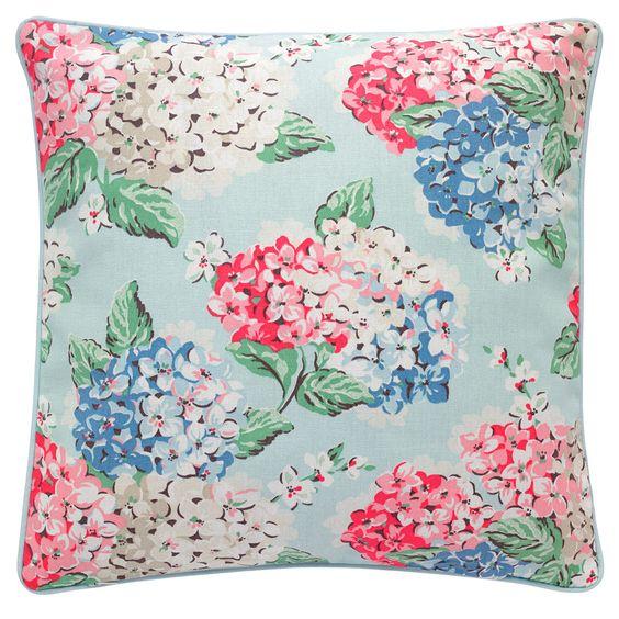 Hydrangea Cushion   Cath Kidston  