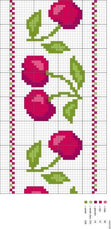 Solo patrones punto cruz punto cruz patrones and - Dibujos para hacer punto de cruz ...