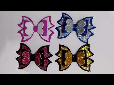 عمل يدوي بورق الفوم بسيط و جميل فيونكة للتزيين Fiocco Con Gomma Eva Diy Ribbon Youtube Easter Diy Christmas Crafts Crafts