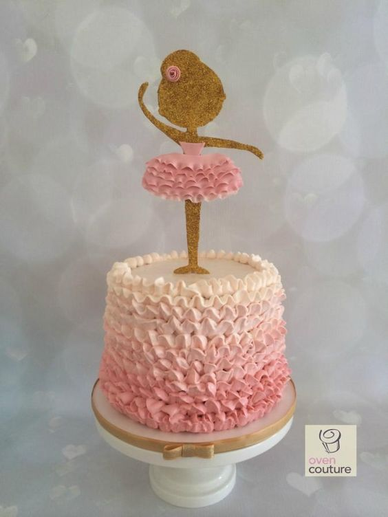 Ballerina Cake - Cake by Oven Couture