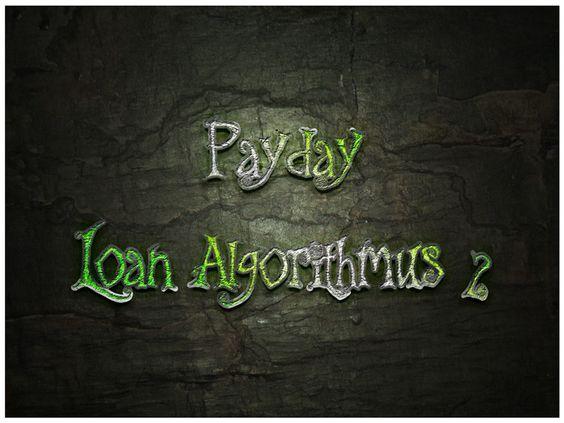 Payday Loan Algorithmus 2.0