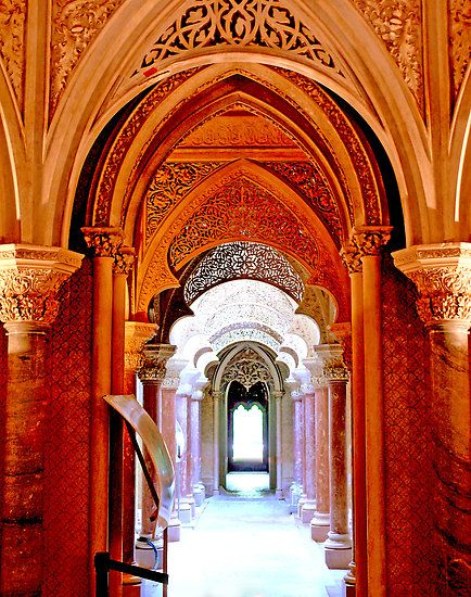 Monserrate palace, Sintra - Portugal by Tereza del Pilar