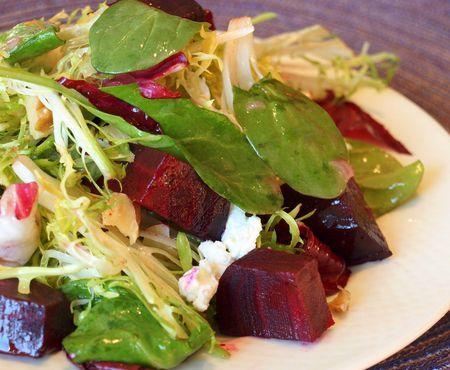 Roasted beetroot salad- sounds delish!