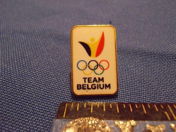 2016 Rio Olympic NOC Pin Belgium Dated