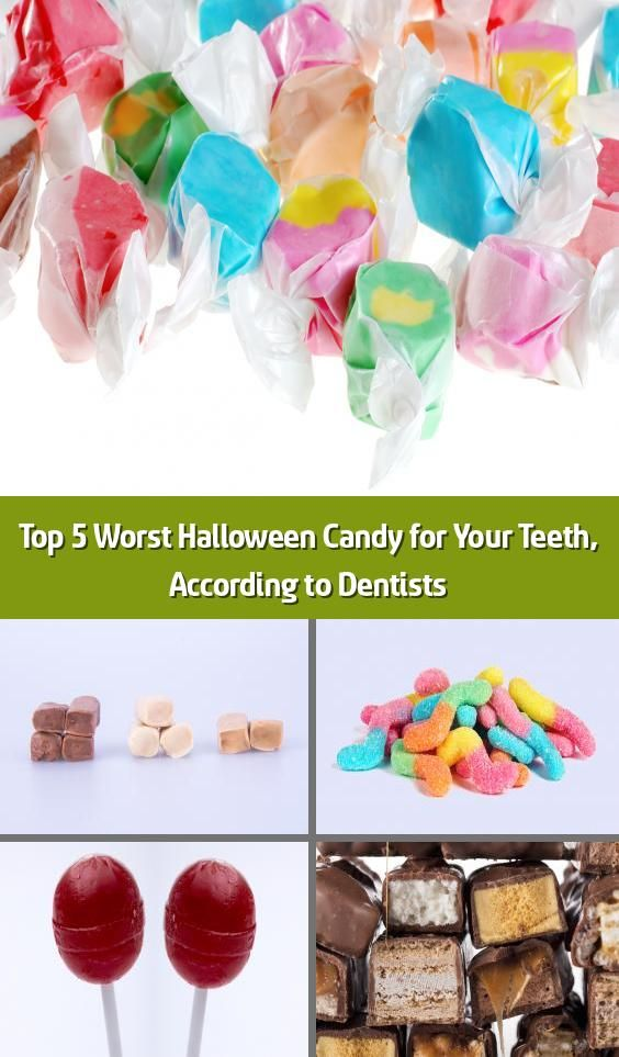 Top 5 Halloween Candy 2020 Top 5 Worst Halloween Candy for Your Teeth, According to Dentists