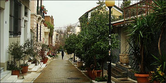 Mets neighbourhood....Athens as it used to be   an island in the center of the city....