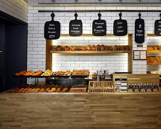 Image detail for modern bakery shop interior design in for Bakery shop decoration ideas