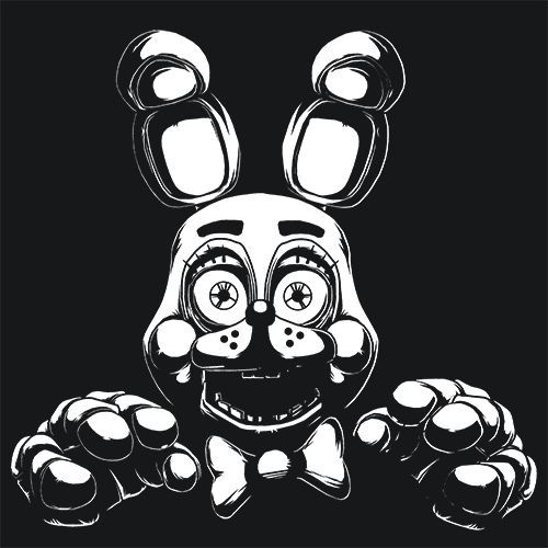 Bonnie FNAF T-Shirt More Info Behind The Design Five Nights at Freddy's is an indie point-and-click survival horror video game T-Shirts & Apparel - Bonnie FNAF T-Shirt