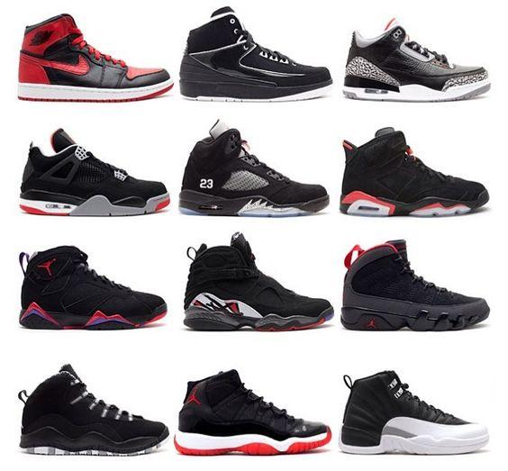 Air Jordan Shoes 1-15