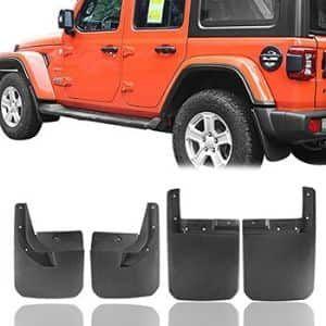 Hooke Road Jeep Wrangler Jl Mud Guards Set Jeep Parts Mods Jeep Wrangler Wrangler Jl Jeep