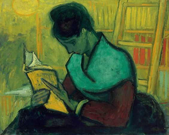 The Novel Reader, November 1888. Oil on canvas, 73 x 92 cm. Private collection.