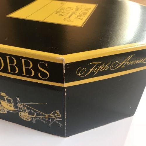 Vtg Dobbs Fifth Avenue Hat Box Octagonal 1960 039 S Mid Century Hat Frame Inside Hat Box Mid Century Frame