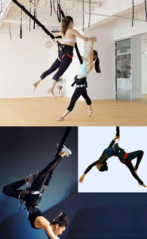 Bungee Cord For Yoga Gravity Training Bungee Workout Aerial Yoga Fitness Body