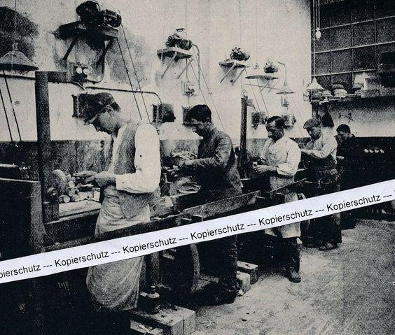Königsberg in Preußen - Königliche Bernsteinwerke - Bernstein um 1915   H 22-12